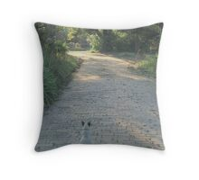 Cat-scape Throw Pillow