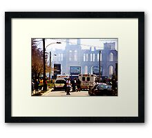 goodbye alma Framed Print