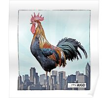 A HUGE COCK Poster