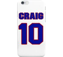 Basketball player Craig Neal jersey 10 iPhone Case/Skin