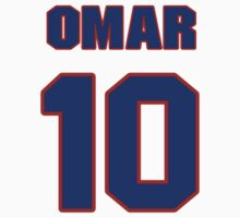 Basketball player Omar Cook jersey 10 by imsport