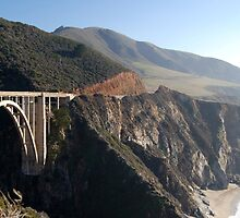 Bixby Creek Bridge by Miriam Gordon