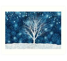 Winter Starlight Art Print