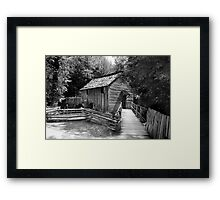 Cable Mill Framed Print