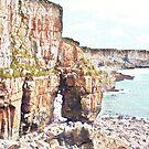 Pembrokeshire Cliffs by Mishka Góra