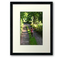 Countryside joy Framed Print