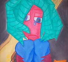 Sad Musician by Cassie Hough