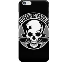 Outer Heaven White iPhone Case/Skin