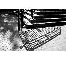 Step Shadows ^ Photographic Print