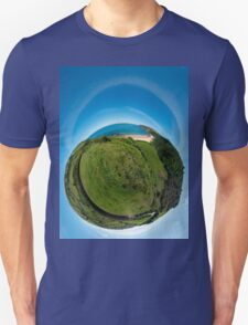 Kinnagoe Bay (as a floating green planet) Unisex T-Shirt