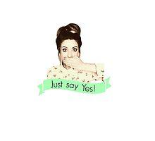 Zoella Just Say Yes by PrincessSugglet