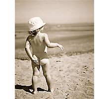 beach bum Photographic Print