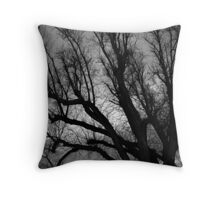 Skeleton Sky Throw Pillow