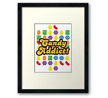 Candy Addict Framed Print