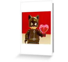 Catwoman Valentines Greeting Card