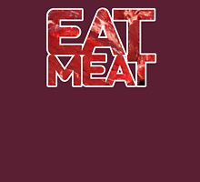 EAT MEAT Womens Fitted T-Shirt