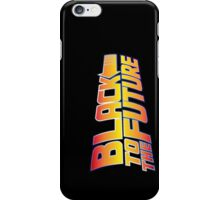 McSuperfly Special (Black to the Future) v2 iPhone Case/Skin