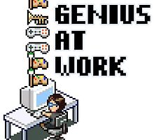 Genius At Work by gamermanga
