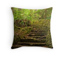 Up the garden path, The Dandenongs Throw Pillow