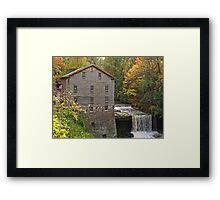 Lanterman's Mill Framed Print