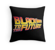 McSuperfly Special (Black to the Future) v2 Throw Pillow