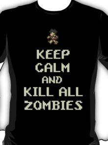 Terraria Keep Calm Zombies T-Shirt