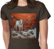 Searching For The Herd Womens Fitted T-Shirt