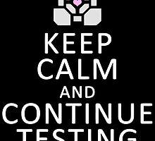 Keep Calm Portal by gamermanga