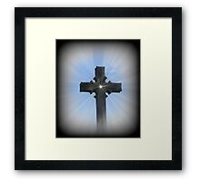 Christ Did It All For You Framed Print