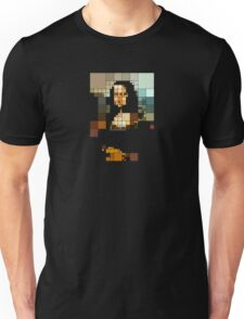 pixelated monalisa T-Shirt