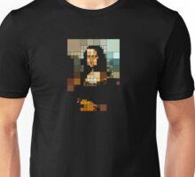 pixelated monalisa Unisex T-Shirt