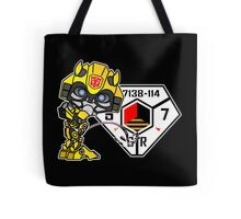 Bumblebee Peeing - Sector 7 v2 Tote Bag