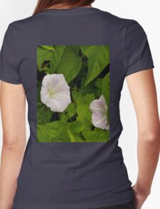 Sea Bindweed, Muckross Head, Donegal Womens Fitted T-Shirt