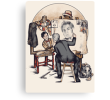 Regenerated Rockwell Canvas Print
