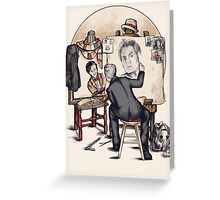 Regenerated Rockwell Greeting Card