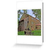 Stover Mill - Erwinna Pa Greeting Card