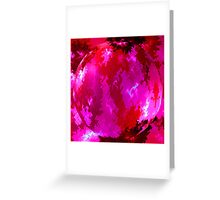 Heavenly pink Greeting Card