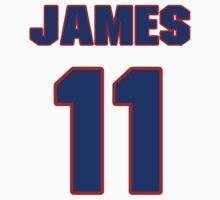 Basketball player James Hardy jersey 11 by imsport