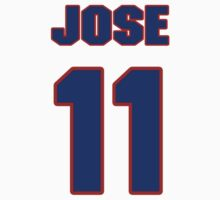 Basketball player Jose Barea jersey 11 by imsport