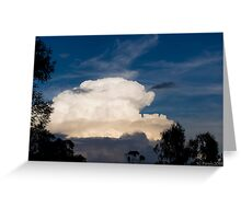 Storm Cell Cloud Greeting Card