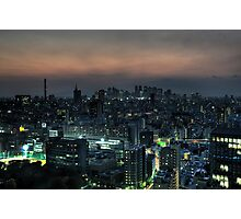 Blade Runner Tokyo Photographic Print