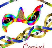 Carnival mask by Franghin
