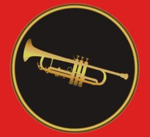 Trumpet Gold Sign by vikisa