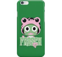 Frosch thinks so too! iPhone Case/Skin