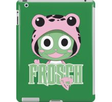 Frosch thinks so too! iPad Case/Skin