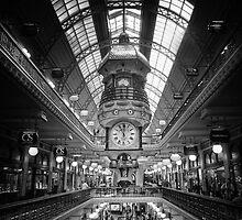 Queen Victoria Building by Alf Caruana