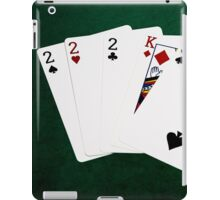 Poker Hands - Three Of A Kind - Two iPad Case/Skin