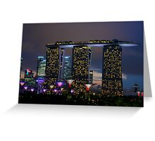 Singapore - Gardens by the Bay Greeting Card