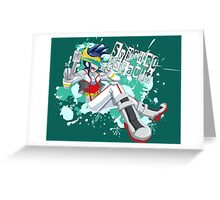 Synchro Assault  Greeting Card
