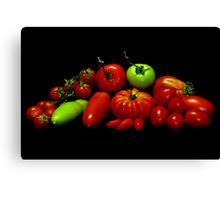 Tomatoes Canvas Print